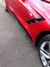 C7 Corvette Stingray Side Skirts - RPI Stage I